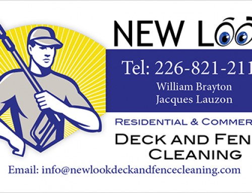 Business Card – New Look Deck and Fence Cleaning