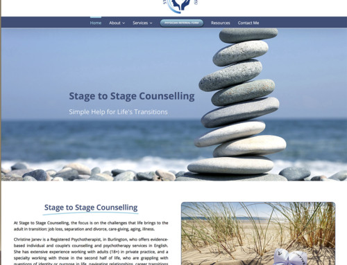 Stage to Stage Counselling