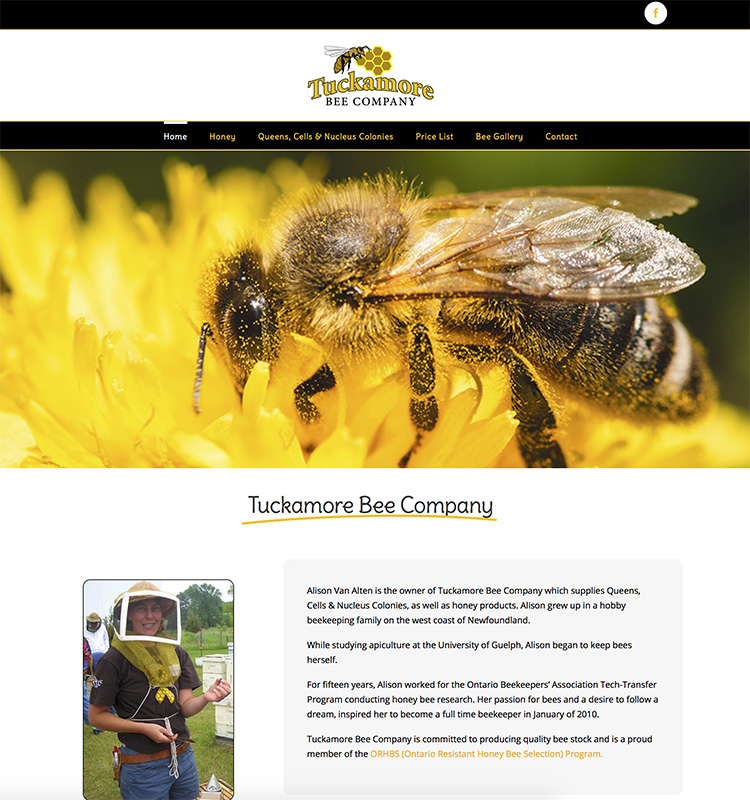 Tuckamore Website